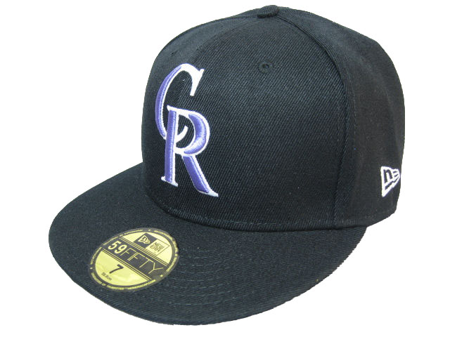 Colorado Rockies MLB Fitted Hat LX1
